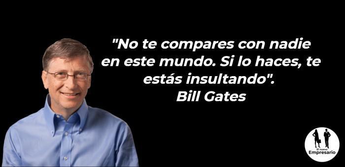 Frases Bill Gate emprendedor