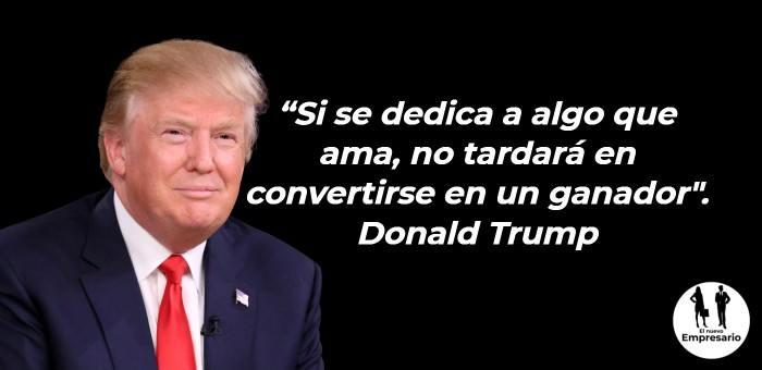 Frase Donald Trump Negocios