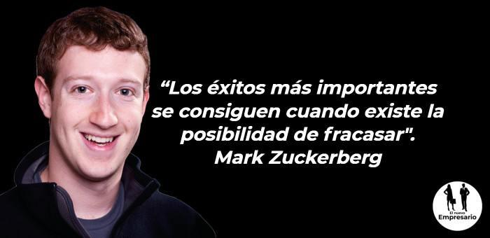 Mark Zuckerber frase emprender negocios
