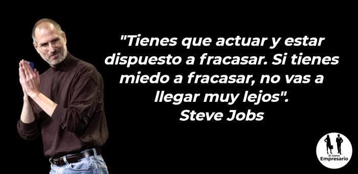 Steve Jobs frases de emprendedores famosos