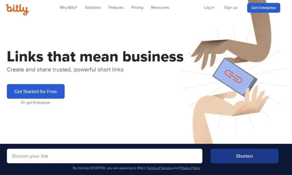 Acortar link con Bitly, la herramienta para empresas y marketeros