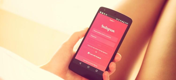 Acceso a la cuenta de instagram desde el móvil