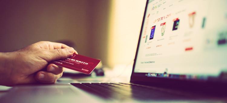 compra con tarjeta en una tienda online