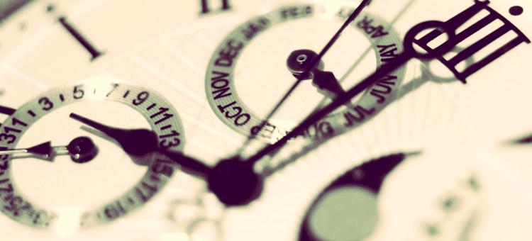 reloj que significa el registro de tiempo de jornada de trabajo
