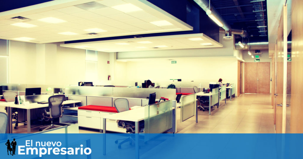 Iluminacion led negocios oficinas